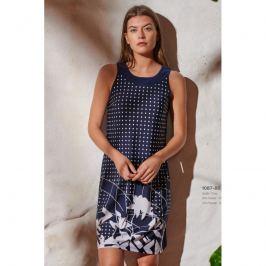 Šaty Lady Belty 20V-1087-80 - barva:BEL80/modrý puntík, velikost:XXXL