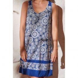 Šaty Lady Belty 20V-1056Y-76 - barva:BELAZU/modrá, velikost:L