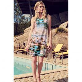 Šaty Lady Belty 20V-1014V-69 - barva:BEL69UNI/potisk, velikost:L