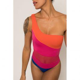 Jednodílné plavky Dorina D02029M - barva:DOROF16/oranžová/růžová/modrá, velikost:L