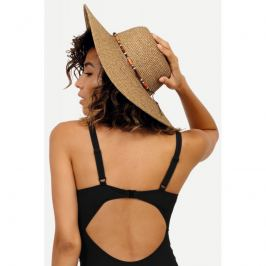 Plážový klobouk Feba F65 - barva:FEBAKAP21/hnědý, velikost:UNI