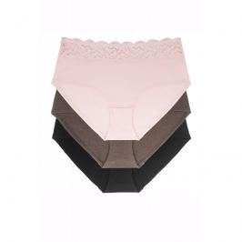 Kalhotky Dorina D01882Y - barva:DOROZ96/růžové/hnědé/černé, velikost:S