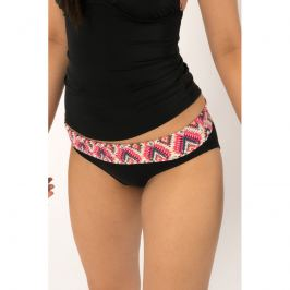 Plavkové kalhotky Dorina D01130M - barva:DOROC104/růžový potisk, velikost:L