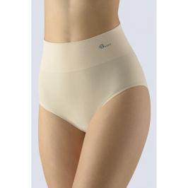 Dámské kalhotky do pasu Gina 00049P - barva:GINLBH/tělová, velikost:M/L