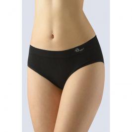 Dámské klasické kalhotky Gina 00047P - barva:GINMxC/černá, velikost:M/L