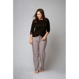 Pyžamo - tričko f62101 - barva:XBV04/černá, velikost:L