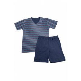 Pánské pyžamo Cornette 330 - barva:COR05/tyrkysová, velikost:L