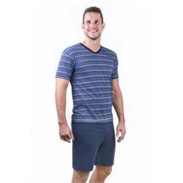 Pánské pyžamo Cornette 330 - barva:COR07/červená, velikost:L