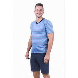 Pánské pyžamo Cornette 330 - barva:COR01/světle modrá, velikost:L