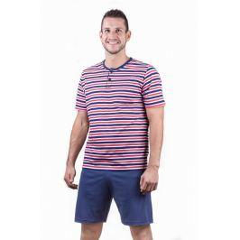 Pánské pyžamo krátké Lady Belty 17V-031324 - barva:BELMAR/námořnická, velikost:L