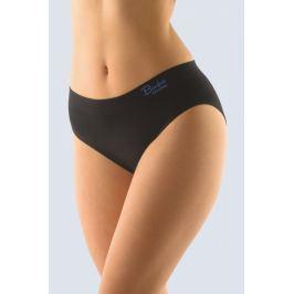 Klasické kalhotky Gina 00028P - barva:GINMxCDBM/černá/modrá  , velikost:L/XL