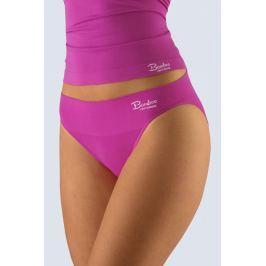 Klasické kalhotky s úzkým bokem Gina 00027P - barva:GINDFRMxB/šípková-bílá  , velikost:M/L