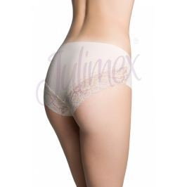 Klasické kalhotky Cheekie od Julimex - barva:JULBEIG/béžová  , velikost:L