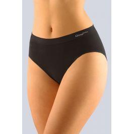 Dámské klasické kalhotky Gina 00019P - barva:GINMxC/černá, velikost:M/L