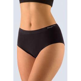 Dámské kalhotky Gina stylu MAMA 01001P - barva:GINMxC/černá, velikost:XL/XXL