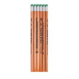 Dřevěné tužky No. 2 balení 6ks