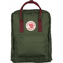 Fjällräven Kanken Forest Green-Ox Red