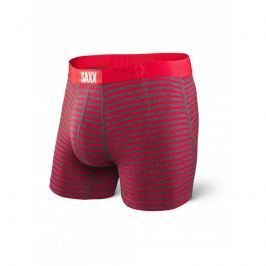 Boxerky SAXX Vibe - Red Hiker Stripe, Velikost S