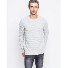 RVLT 6418 Tri knit pattern Grey M