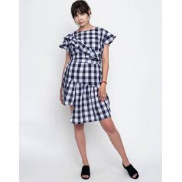 House of Sunny Angel everyday blue gingham 34
