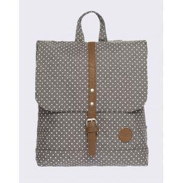 Enter Backpack Mini Melange Grey/ White Polkadot