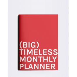 Octagon Big Timeless Monthly Planner