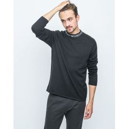 Cheap Monday Dissent Knit Logo Neckline Black XL