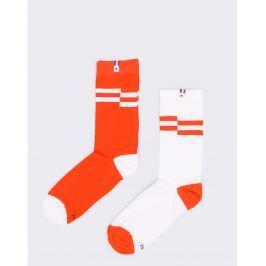 Le Coq Sportif Essentiels Saison 2 Optical White 43-46 Pánské ponožky