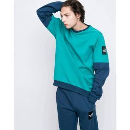 The North Face Fine Crew Porcelain Green/Blue Wing Teal L