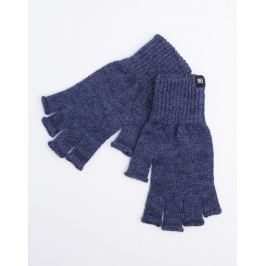 Makia Flag Wool Fingerless Blue