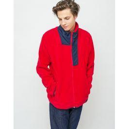 Herschel Supply Fleece Zip Up Red/Peacoat L