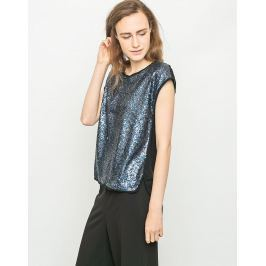 Numph GLAM BLOUSE BLUE WING 38