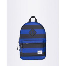Herschel Supply Heritage Kids Black/Surf the Web Stripes