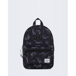 Herschel Supply Heritage Kids Saltwater/Black Rubber