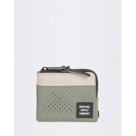 Herschel Supply Johnny RFID Light Khaki Crosshatch/Forest Night