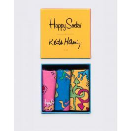 Happy Socks Keith Haring Box Set XKEH08-4000 41-46
