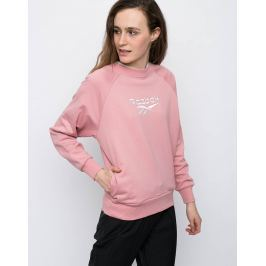 Reebok LF COTTON COVER UP Chalk Pink L