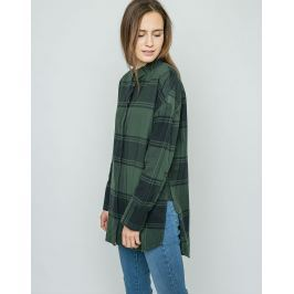 Dr. Denim Mala Green Check M