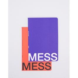 NOMESS Mess Study Book M Blue/Red
