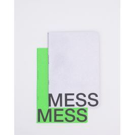 NOMESS Mess Study Book M Neon Green