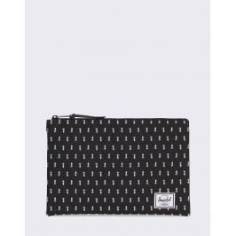 Herschel Supply Network Large Black Pineapple Embroidery
