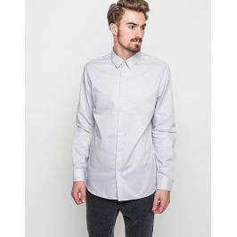 Selected Onerain Light Grey Check M