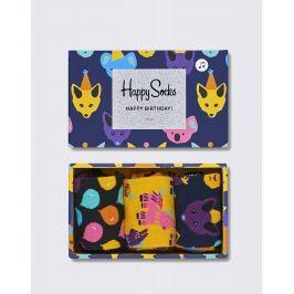 Happy Socks Party Animal Singing Birthday Gift Box XBDA08-9000 36-40
