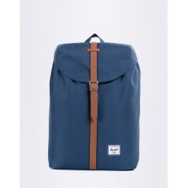 Herschel Supply Post Navy / Tan Synthetic Lether