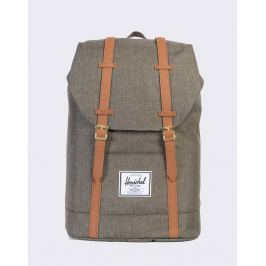 Herschel Supply Retreat Canteen Crosshatch/Tan Synthetic Leather