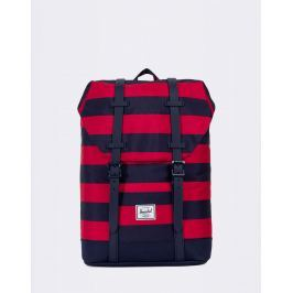 Herschel Supply Retreat Youth Peacoat/Red Stripe/Peacoat Rubber