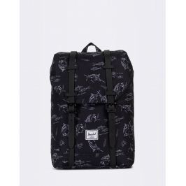 Herschel Supply Retreat Youth Saltwater/Black Rubber