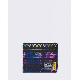 Herschel Supply Roy + Coin RFID Zig Zag Blue/Green