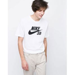 Nike SB Logo White/White/Black L