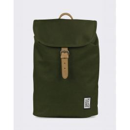 The Pack Society Small Backpack Solid Forest Green